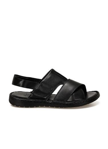 Flogart Sandalet Siyah